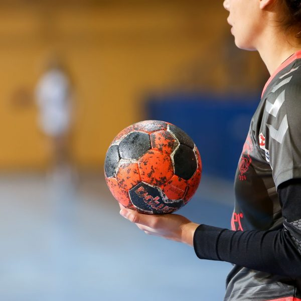 Voetbal wedstrijd vrouwen