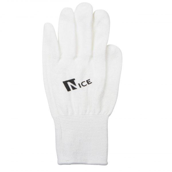 Schaatshandschoenen Nicesports wit