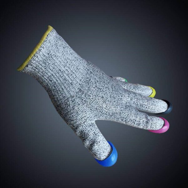 Shorttrack handschoen met dopjes